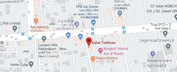 グーグルマップへは地図をクリック