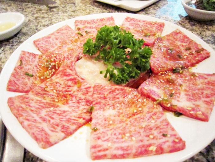 食べ放題でも和牛の上質なお肉を提供している
