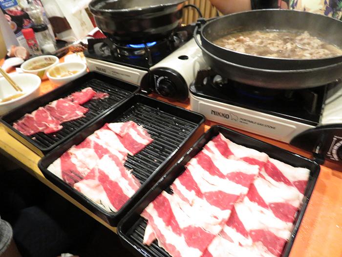 ビーフはほどよく脂もあり、すきやきにとっても合うお肉!